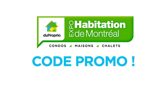 Code promo Expo Habitation