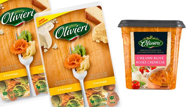 coupon sur les pates et sauces olivieri