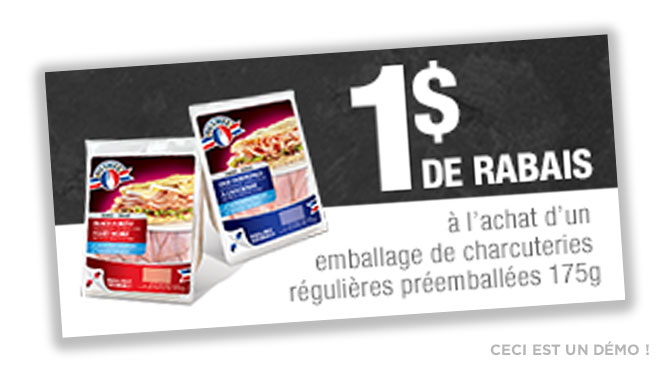 Coupon charcuterie Olymel
