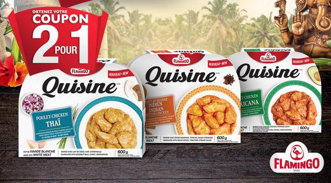 Coupon Quisine 2 pour 1