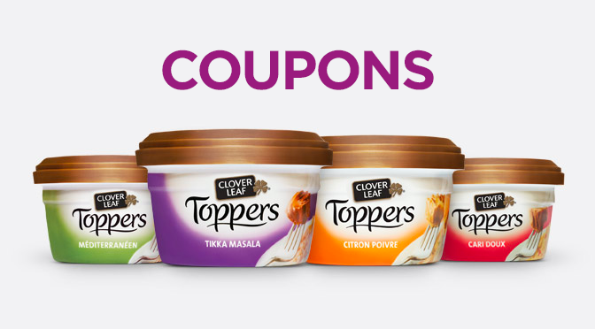 coupon rbais Clover Leaf Toppers