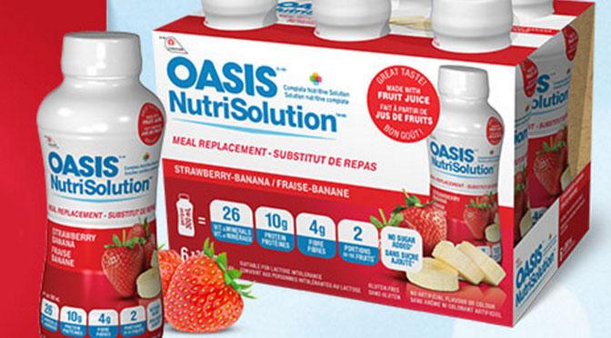 Coupon rbais boisson oasis nutrition