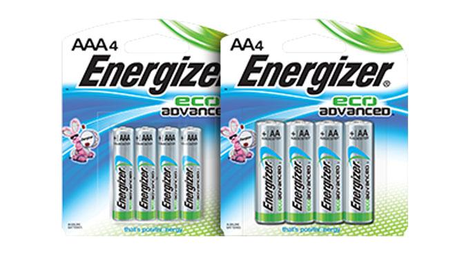 Coupon-raais batteri energizer eco advance
