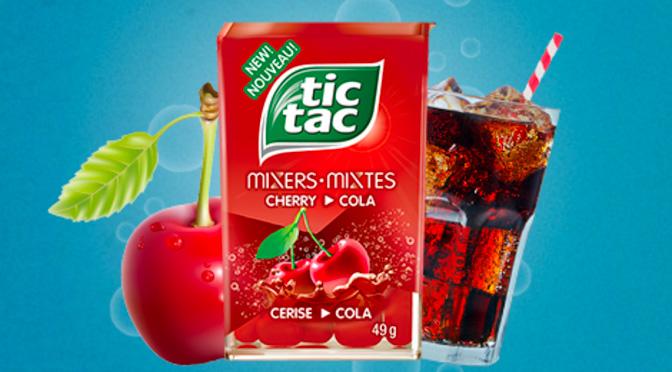 Échantillons gratuits Tic Tac Mixtes