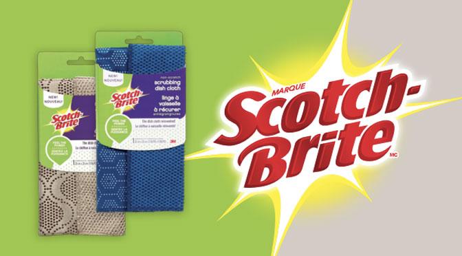 Coupons-rabais Scotch Brite lingette à récurrer