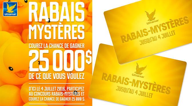 Rabais Mystere Ultramar 2016