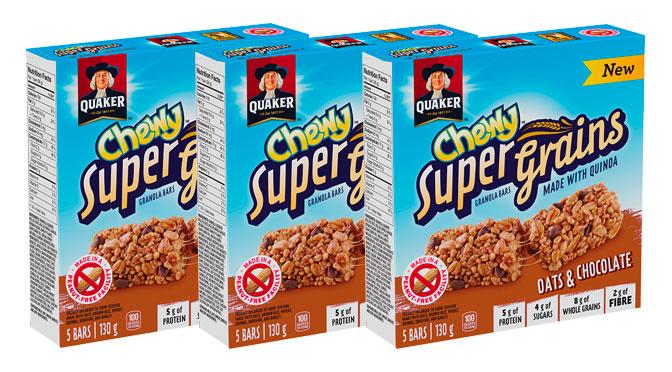 Barre tendre Quaker Super Chewy