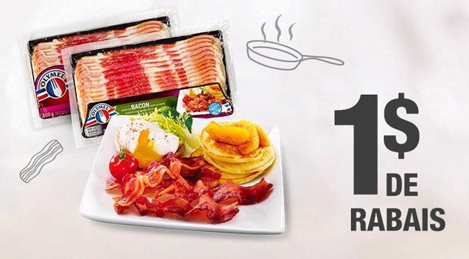 Coupon-rabais Bacon Olymel