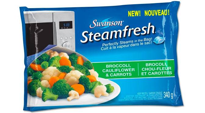 Legume surgellé swanson steamfresh