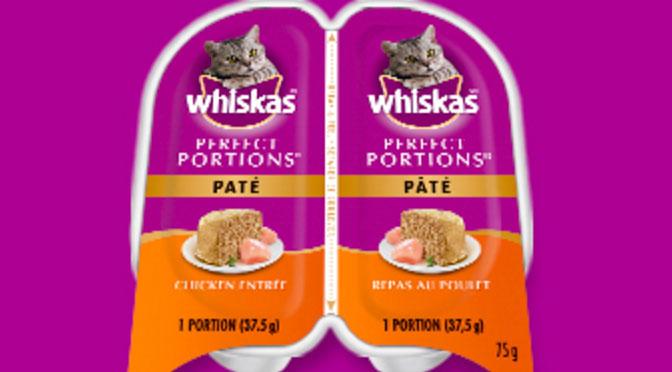 Échantillons gratuit Whiskas Perfect Portion