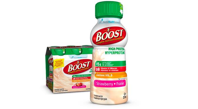 Échantillons Boost Hyperprotéiné