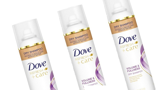 Shampooing Sec Dove +Care