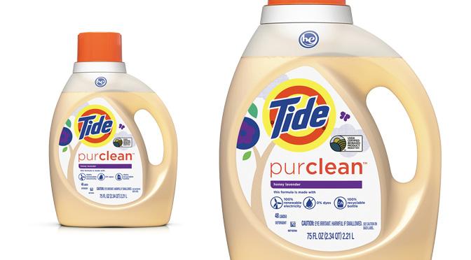 Détergent tide Pur Clean