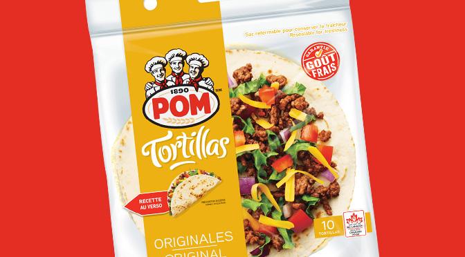 Tortilla Pom avec coupon