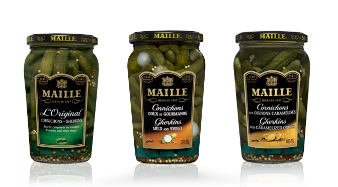 Cornichons Maille Coupon 2$
