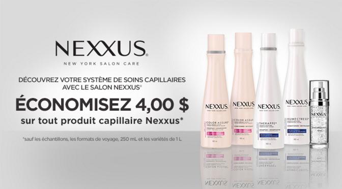 Coupon Produits Nexxus