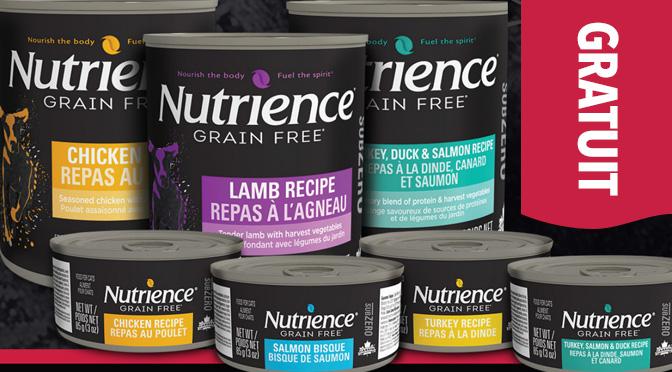 Nutrience SubZero gratuit