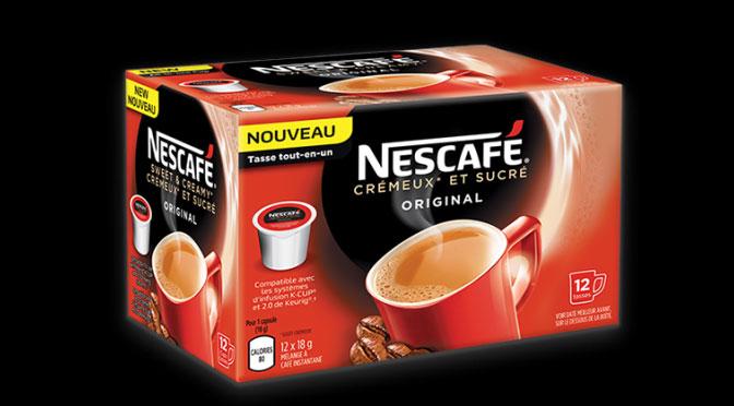Coupon Nescafé K-Cup Keurig