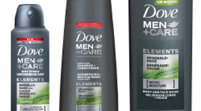 Échantillons Dome Men plus Care
