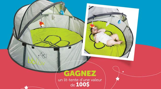 Lit-Tente pour BBLUV