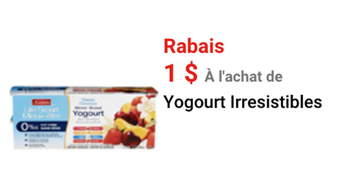 Yogourt irresistile