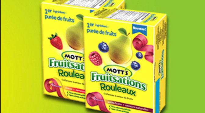 Rouleau Mott's Fruitsation