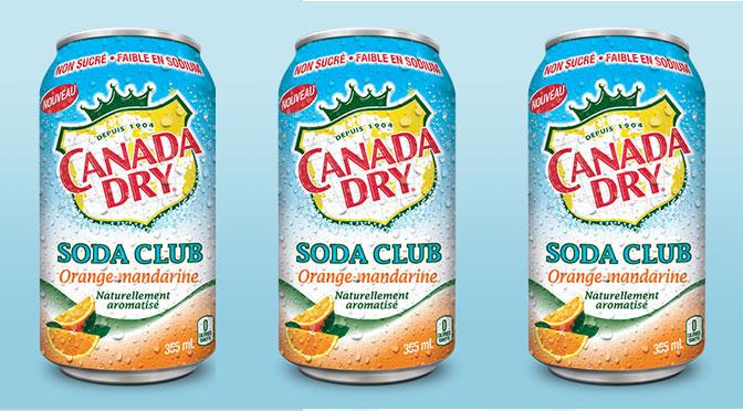 Canada Dry Orange Mandarine