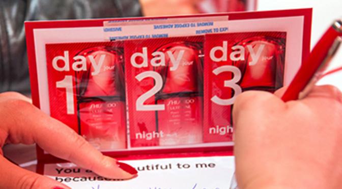 Échantillons gratuits Shiseido