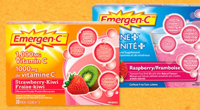 Coupon rbais Emergen-C vitamine C