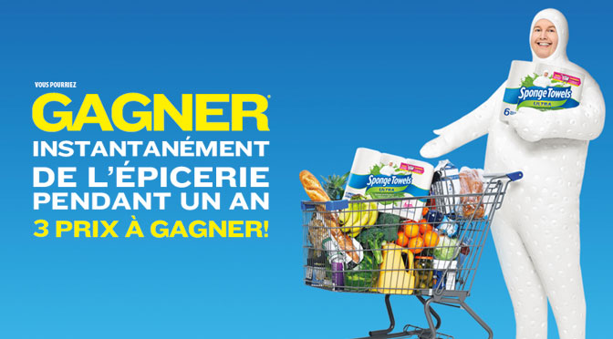 Concours Épicerie gratuite pendant 1 an