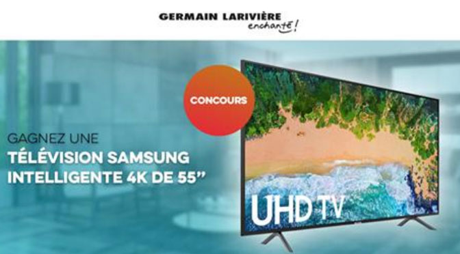 Concours Germain Lariviere TV SAMSUNG