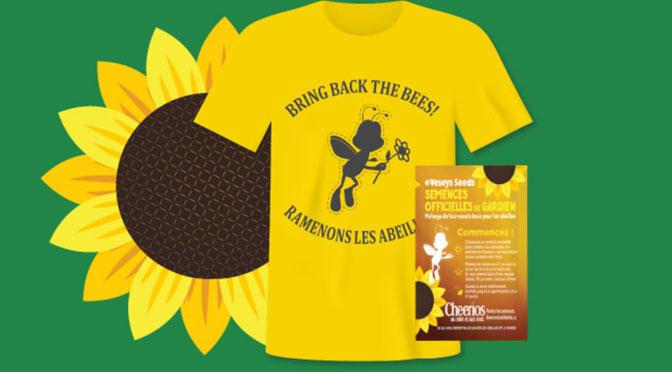 T-shirt pour enfant Cheerios Gratuit