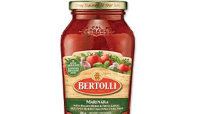 Coupon sauce Bertoli