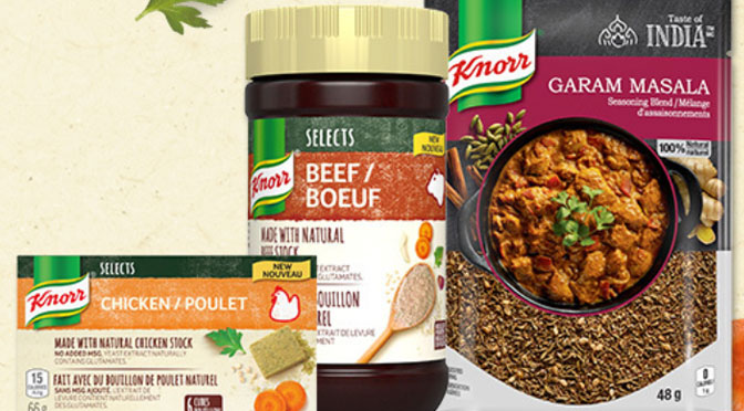 Échantillons gratuit Bouillon Knorr