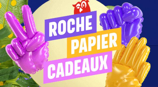 Roche Papier Cadeau Couche Tard 2020