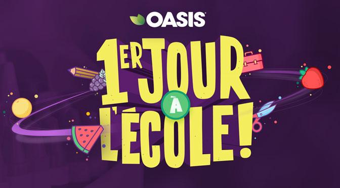 Trousse gratuite 1er jour à l'école Oasis