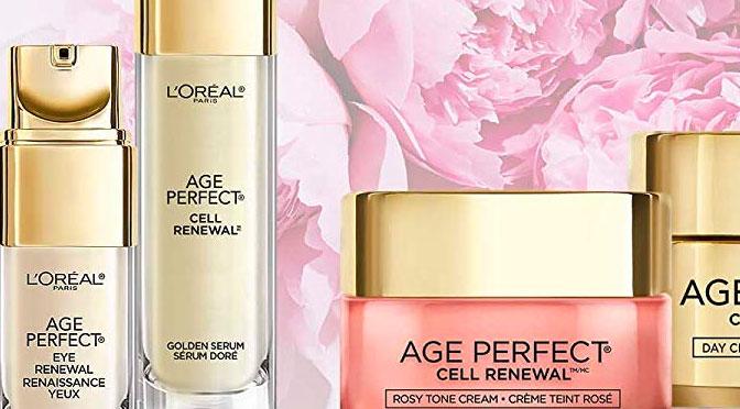 Échantillons gratuits L'oréal Paris Age Perfect