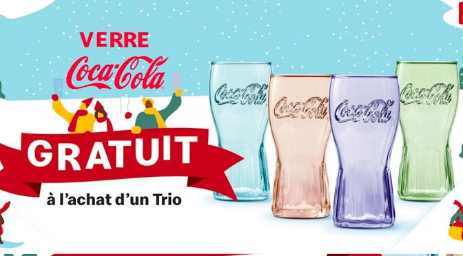 Verre gratuit coca-cola Mcdonal Walmart