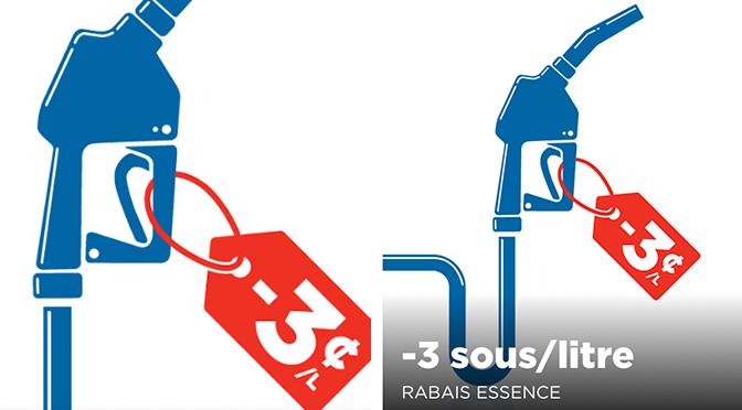 Coupon-rabais sur l'essence Couche-Tard