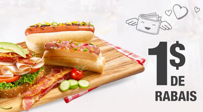 Coupon rabais hot-dog saucisses olymel sans nitrite