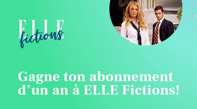 Concours Abonnement 1 an Elle Fiction Gratuit