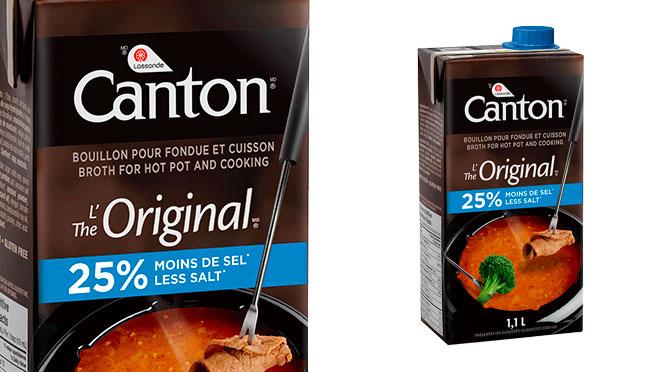 Coupon-rabais Bouillon à fondu Canton