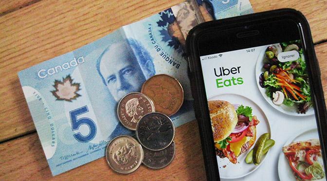 Coupon-rabais Uber Eat Code Promo Montréal et Québec