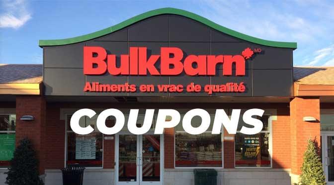Coupon-rabais Bulk Barn Canada