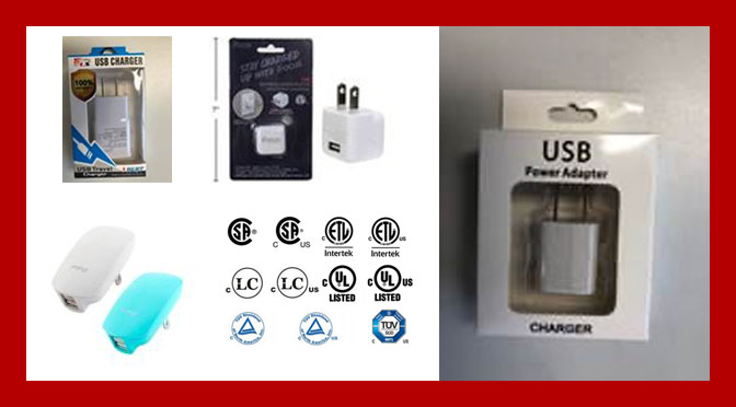 Rappel important chargeur USB Canada