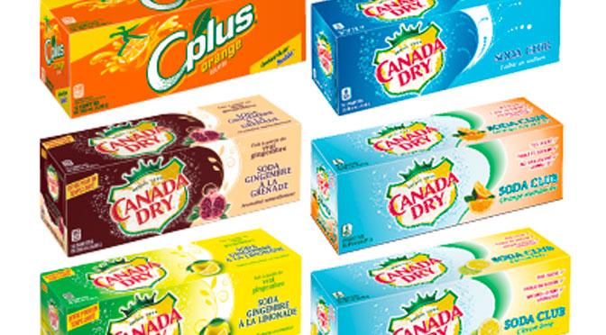 Coupon-rabais Canada Dry Caisse de 12 canettes