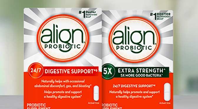 coupon-rabais Align Probiotiques