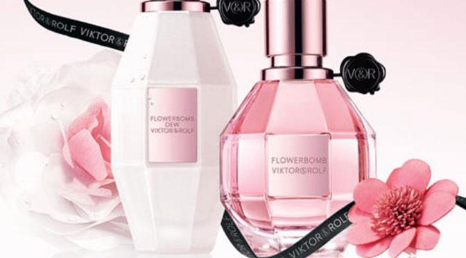 échantillons gratuit parfum Flowerbomb