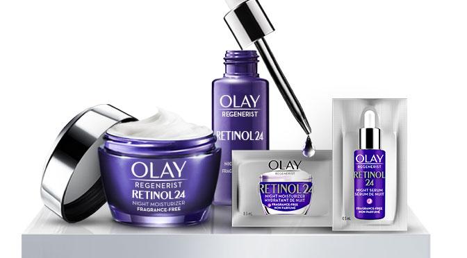 Echantillons gratuit Olay Retinol 24