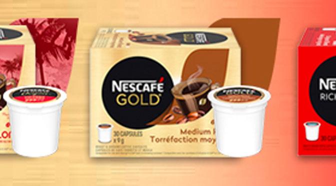 Coupon rabais de 9$ sur les 30 paquets de capsule K-Cup Nescafe